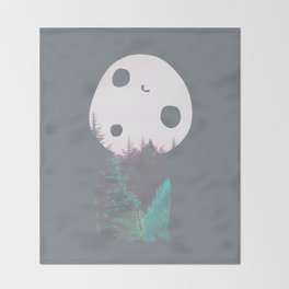 Dreamland Kodama Throw Blanket
