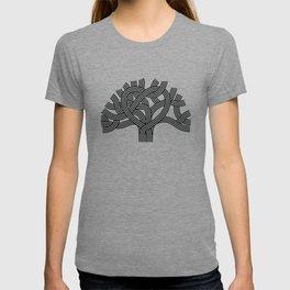 Oakland Love Tree (Black) T-shirt