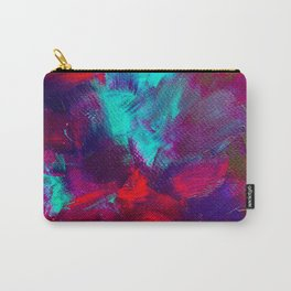 Abstract electric texture art Carry-All Pouch