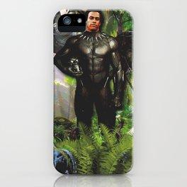 Huey Panther Newton iPhone Case