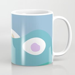 Then Came The Eyes Coffee Mug