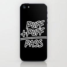 Puff + Puff = Pass iPhone & iPod Skin