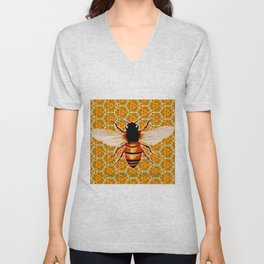 Dances With Bees Unisex V-Neck