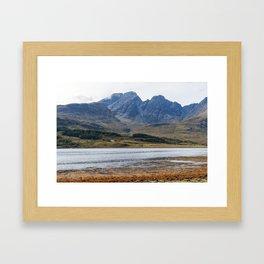Isle of Skye in Scotland Framed Art Print