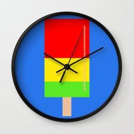 Popsicle fun art Wall Clock
