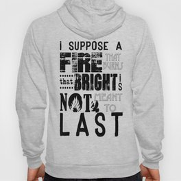 Divergent: Allegiant Inspired Not Meant to Last Hoody