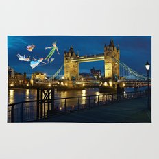 Peter Pan and the London Bridge Rug