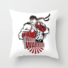 SFV RYU Throw Pillow