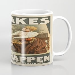 Vintage poster - Mistakes Will Happen Coffee Mug