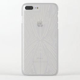 Pinstripe Pattern Creation XVIII Clear iPhone Case