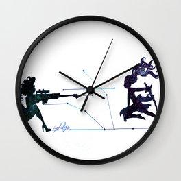 Battle field  Wall Clock