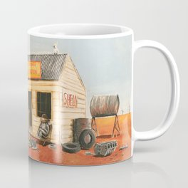 The Outback Petrol Station Coffee Mug