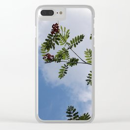 Berries in the sky 2 Clear iPhone Case