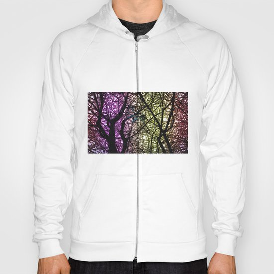 Ribbon in a Tree-Colourful Version Hoody