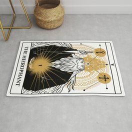 The Hierophant Rug