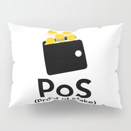 PoS - Proof of Stake Pillow Sham