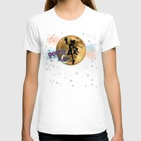 popeye T-shirts featuring POPEYE THE SAILOR MOON - 001 by Lazy Bones Studios