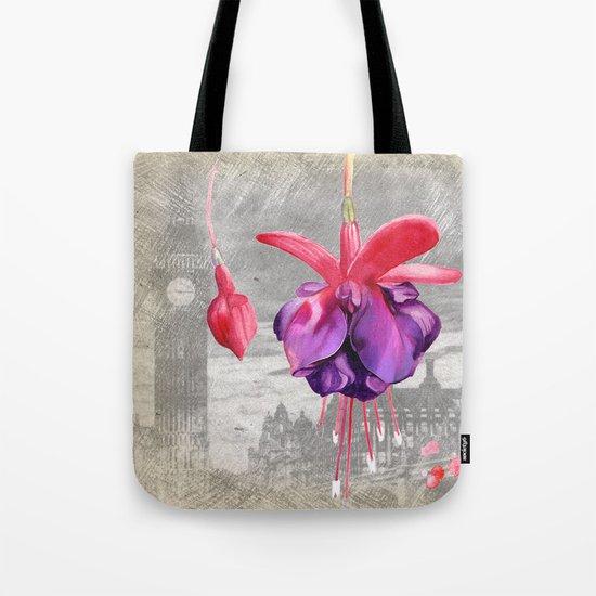 Macro Flower #7 Tote Bag