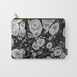 marble paper black and white gifts Carry-All Pouch