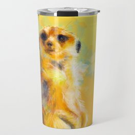 Dear Little Meerkat Travel Mug