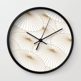 Japanese Umbrella Wall Clock