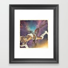 Bodies in Space: Bruising Framed Art Print