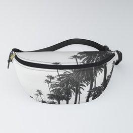 Los Angeles Black and White Fanny Pack