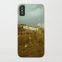 hollywood iPhone & iPod Cases featuring Hollywood by Umbrella Design