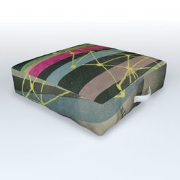 We're All Made Of Stars Outdoor Floor Cushion