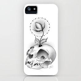 Skull Flower iPhone Case