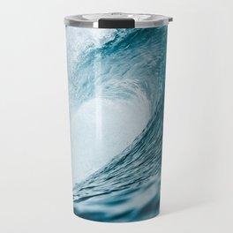 Big Crashing Wave Photograph Travel Mug
