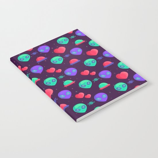 Kawaii Aliens Notebook