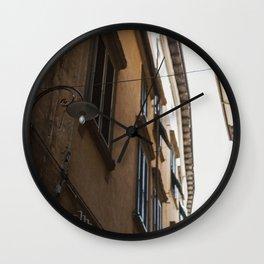 Italian Street Lamp Wall Clock