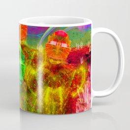 Martian Family Greeting Coffee Mug