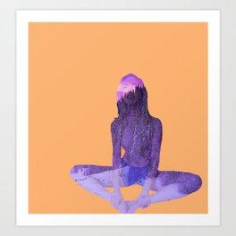 Morning Pose Art Print