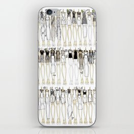 LET THE BODIES HIT THE FLOOR.  iPhone Skin