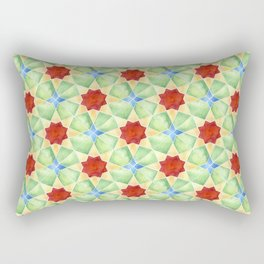 Islamic geometric seamless patterns #10 Rectangular Pillow