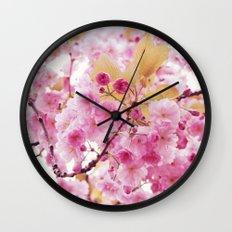 Bloom, bloom, bloom! Wall Clock