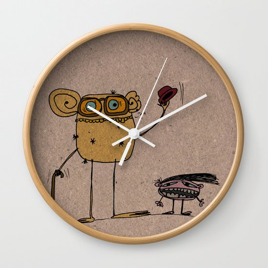 - thinking about family - Wall Clock