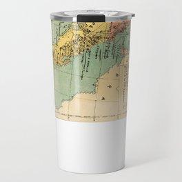 Vintage Map of Baja California (1899) Travel Mug
