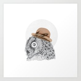 Owl you doin Art Print