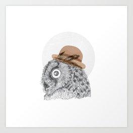 Owl you doin Art Print