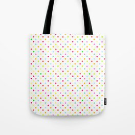 Polka Dot Pattern Tote Bag