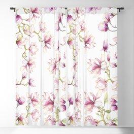 Delicate Magnolia 2 Blackout Curtain