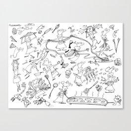 Chef Herbie Canvas Print
