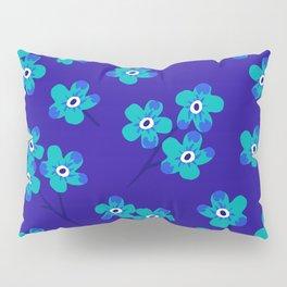 Forget-me-nots - Blue Pillow Sham