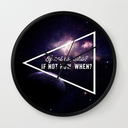 If not us Wall Clock