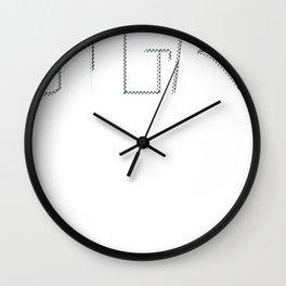STGMA Logo_Alt.#2 Wall Clock