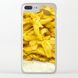 Chips Served in Paper Clear iPhone Case