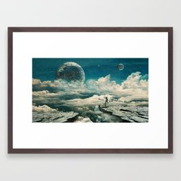 The explorer Framed Art Print